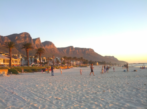 Or just go to the beach. #CapeTown