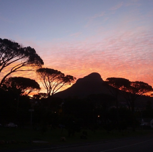 There's always another lousy Cape Town sunset after all!