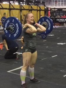 My only decent performance all weekend. Photo from The CrossFit Games.