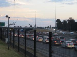 Kinda like Johannesburg and traffic!