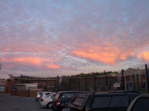 Sunrise at Kyalami