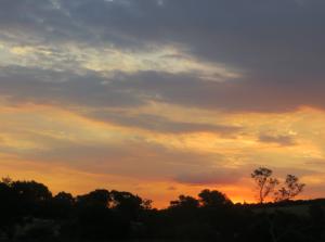Sunset at Kyalami