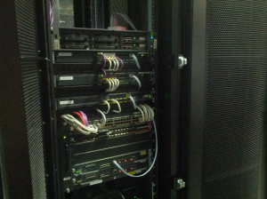 Just another server cabinet