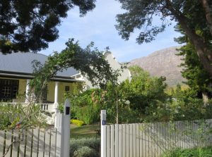 White picket fence, South African version