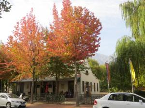 Franschhoek in autumn