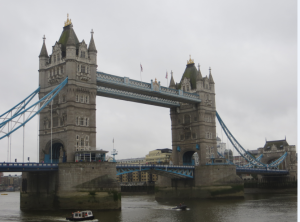 Tower Bridge, from near the hotel that hosted the conference