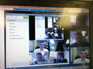 This was one of the funnier WAPA moments ... infinity video conference!